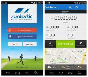 runtastic running app