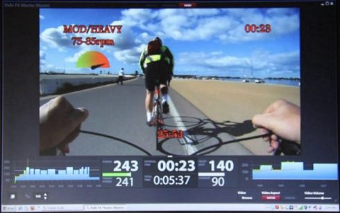 cycling streaming training app example