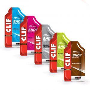 clif gel shot cyclign