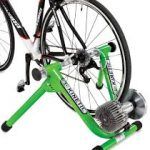 This Kinetic spinner is an example of high-quality bike trainers on the market today.