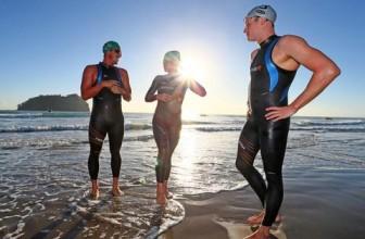 Triathlon Wetsuits:  Full-Sleeve or Sleeveless
